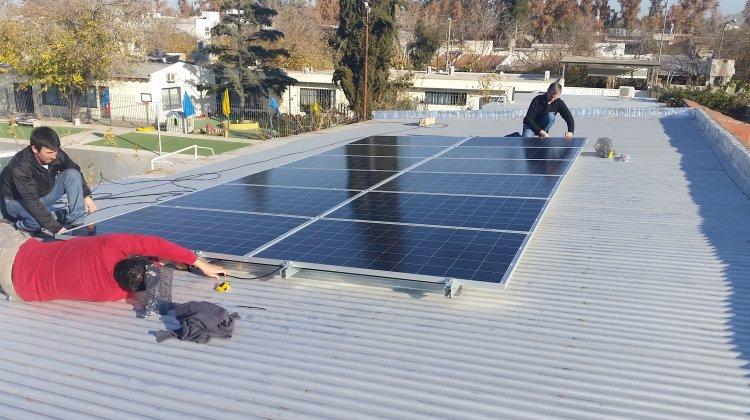 ¡Energía Solar en el colegio!