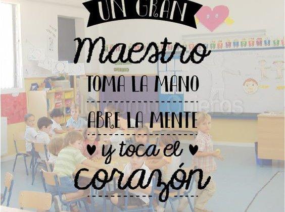 ¡Feliz día! a todos los docentes del colegio