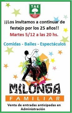 Milonga Familiar
