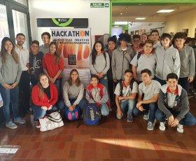 Excelente participación  de los alumnos del colegio en Hackathon UTN Mendoza