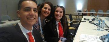 Alumnos del Edison en la reunión del G20