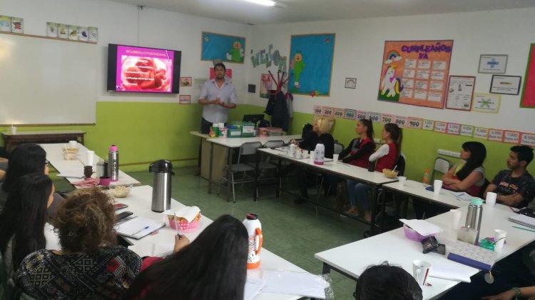 Excelente articulación entre el Jardín Maternal Huellitas y el Nivel Inicial del colegio