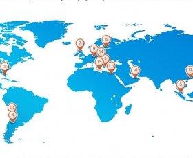 Felices de ser elegida una de las 17 escuelas más innovadora del mundo para Microsoft