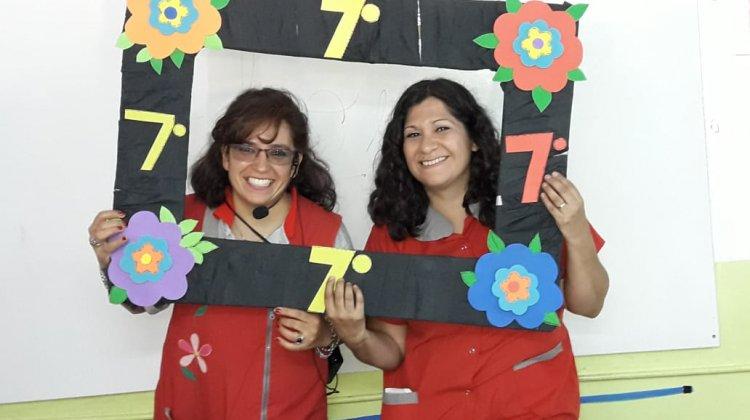 Último día de los alumnos de 7° grado TM y TT