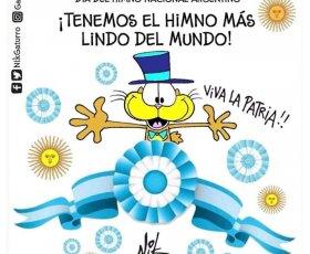 """11 de Mayo día del Himno Nacional Argentino. """"Sean eternos los laureles que supimos conseguir"""""""