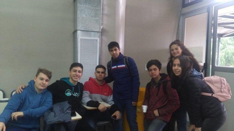 Alumnos de TAE en el Emprende U 2019