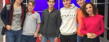 Entrevista de Canal 7 a alumnos de 4to y 5to año