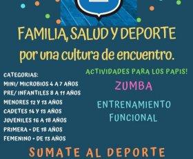 Proyecto de salud y deporte para toda la familia.