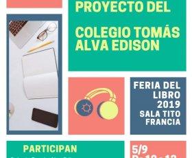 PRESENTACIÓN DE LA BIBLIOTECA DIGITAL EN LA FERIA DEL LIBRO 2019