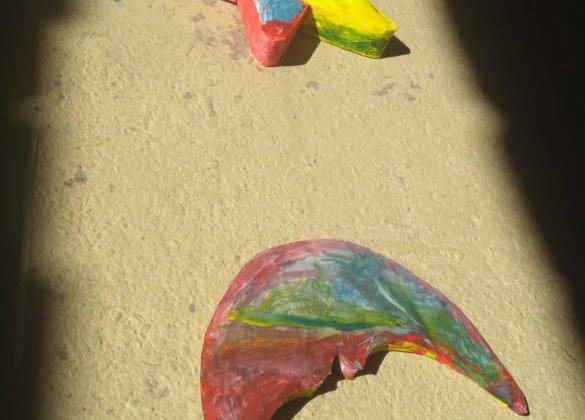 Muestra de Artes Visuales de 5 Años B