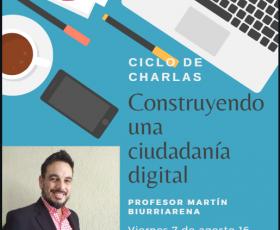 """Charla """"Construyendo una Ciudadanía Digital"""""""
