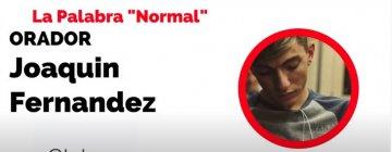 """""""La palabra normal"""" – Joaquín Fernandez – Clubes TEDed2020"""