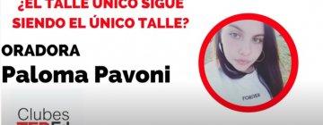 """""""¿El talle único es el único talle?"""" – Paloma Pavoni – Clubes TEDed 2020"""