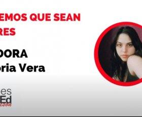"""""""Dejemos que sean libres"""" – Victoria Vera – Clubes TEDed2020"""