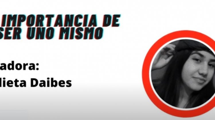 """""""La importancia de ser uno mismo """" – Julieta Daibes – Clubes TEDed2020"""